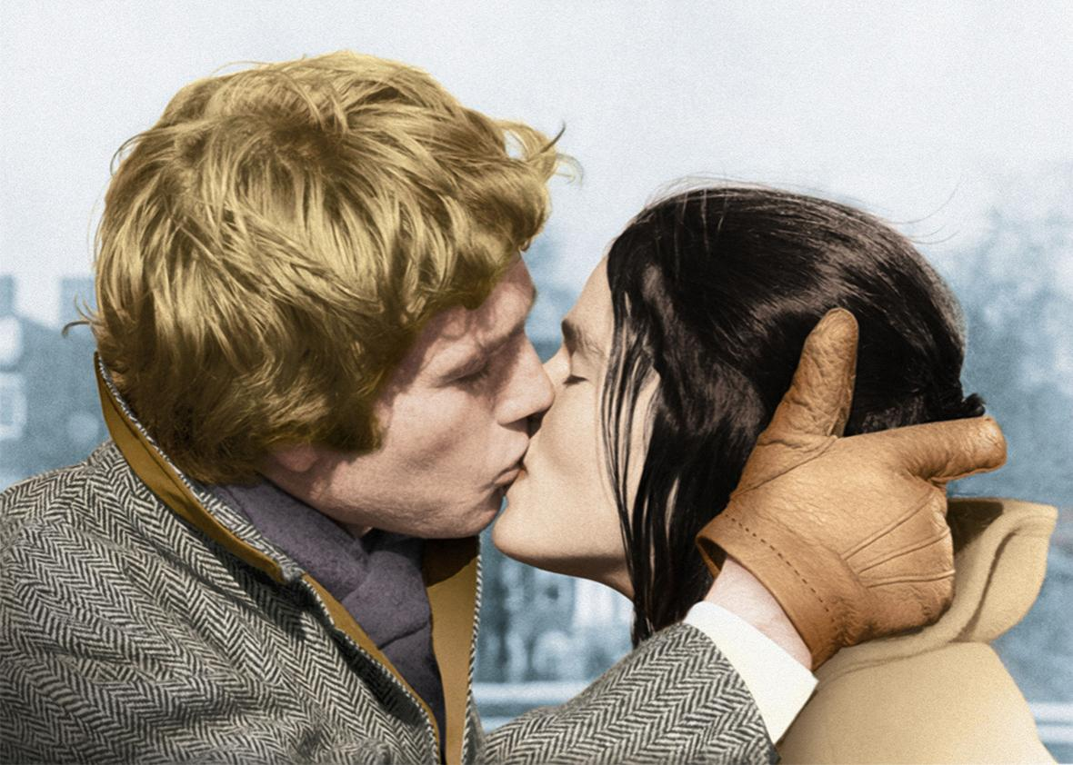 How pop-culture kissing has evolved from silent movies to today