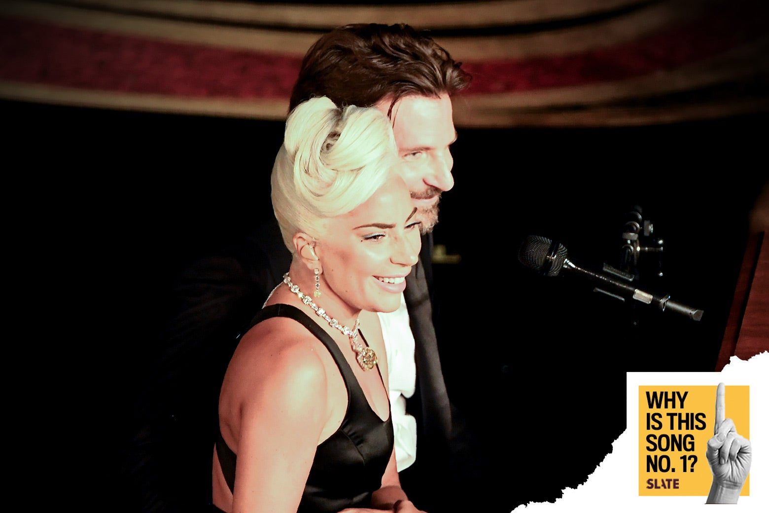 Lady Gaga and Bradley Cooper perform during the 91st Annual Academy Awards on Feb. 24.