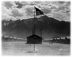 Internment camp at Manzanar