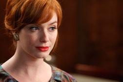 Joan Harris (Christina Hendricks). Click image to expand.