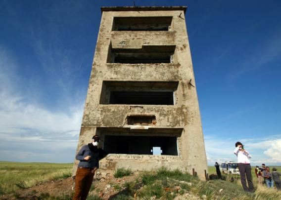 Semipalatinsk, Kazakhstan's nuclear testing site.
