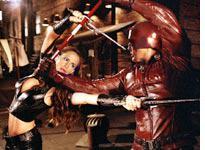 Garner and Affleck in Daredevil