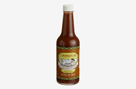 Pepper Plant Original Hot Pepper Sauce.