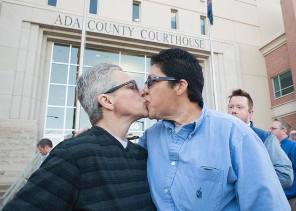 same sex marriage rights and responsibilities in Boise