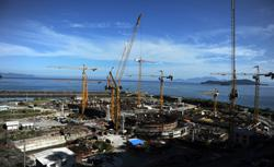 A nuclear plant under construction. Click image to expand.