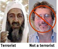 Timothy Noah: Not a terrorist
