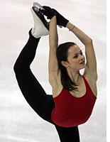 Olympic figure skater Sasha Cohen         Click image to expand.