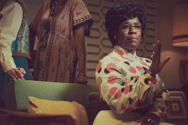 Uzo Aduba as Shirley Chisholm in Mrs. America