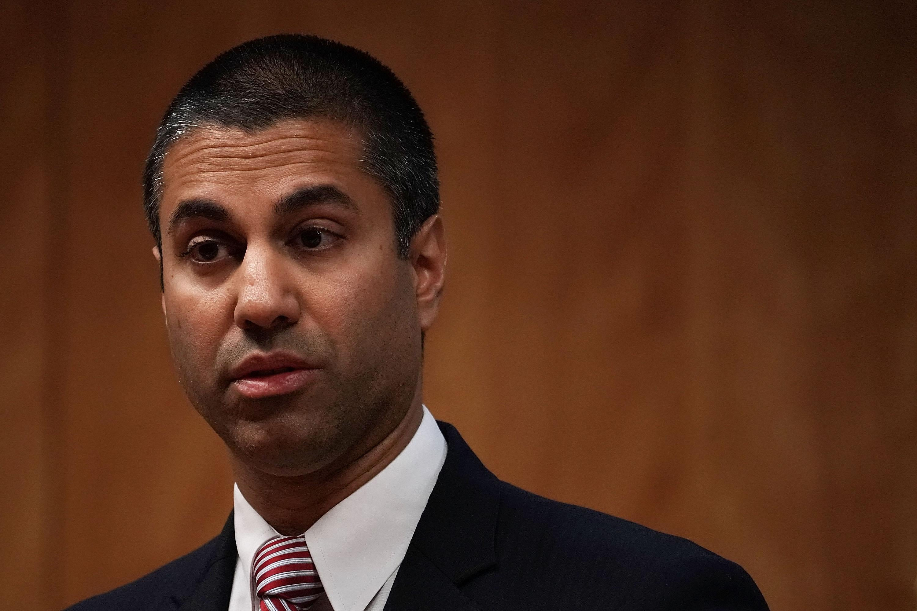 Even Pai's corporate supporters, like Verizon and Sprint, think it's a bad idea.
