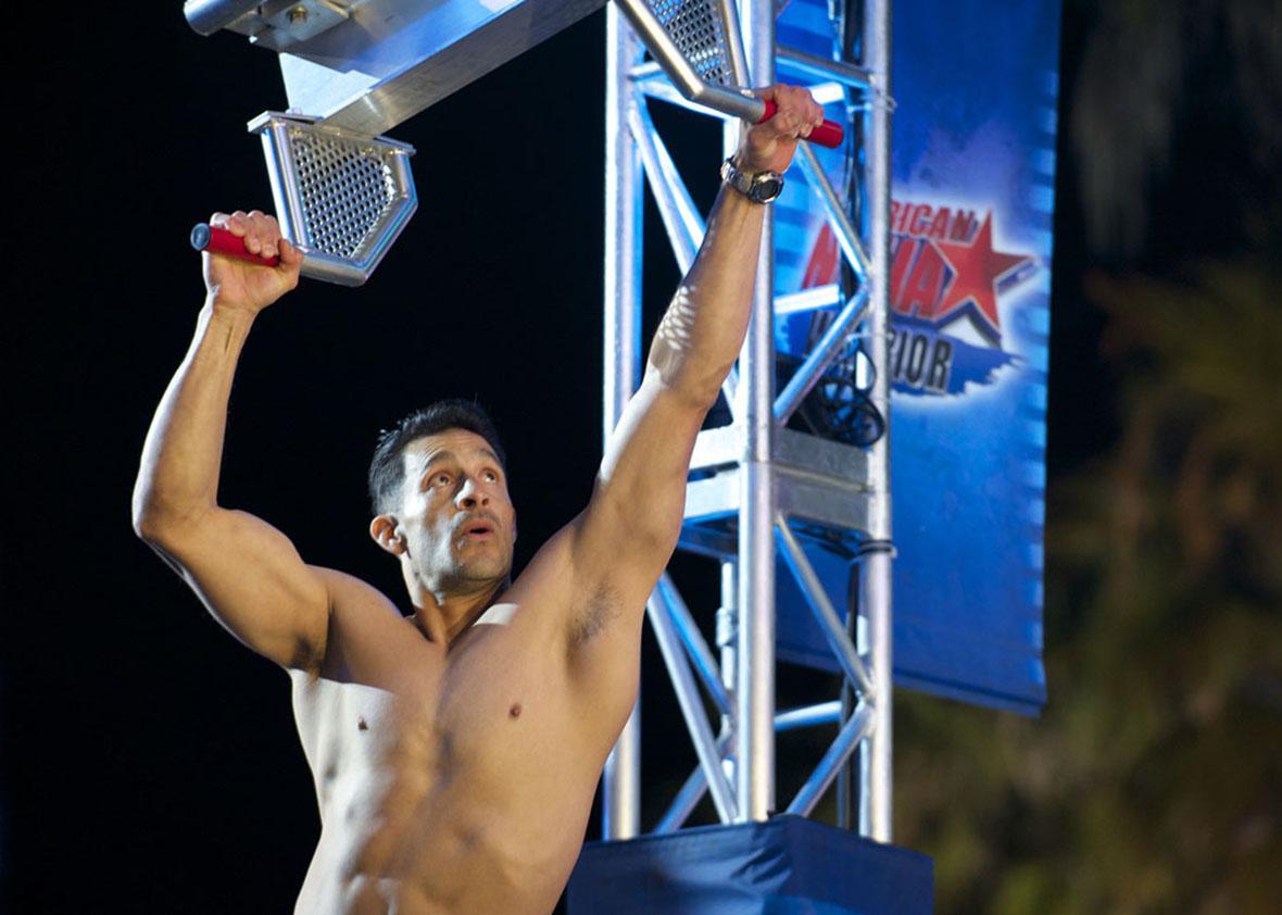 Mario Mendoza in American Ninja Warrior.