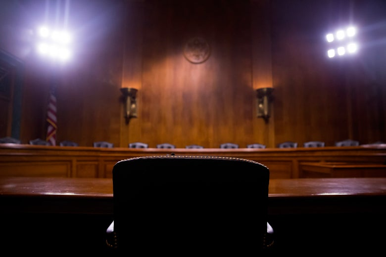 Hearing room in the United States Senate