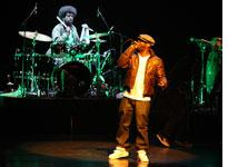 The Roots in concert. Click image to expand.