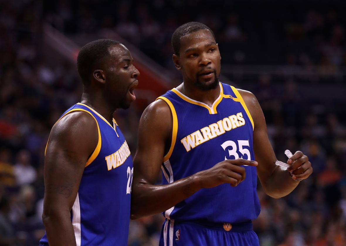 d00cbf1673e1f Can Kevin Durant Overcome Draymond Green's Harsh Review of His Movie  Thunderstruck?