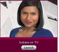 """Click here to launch a slideshow on """"Indian's on TV""""."""