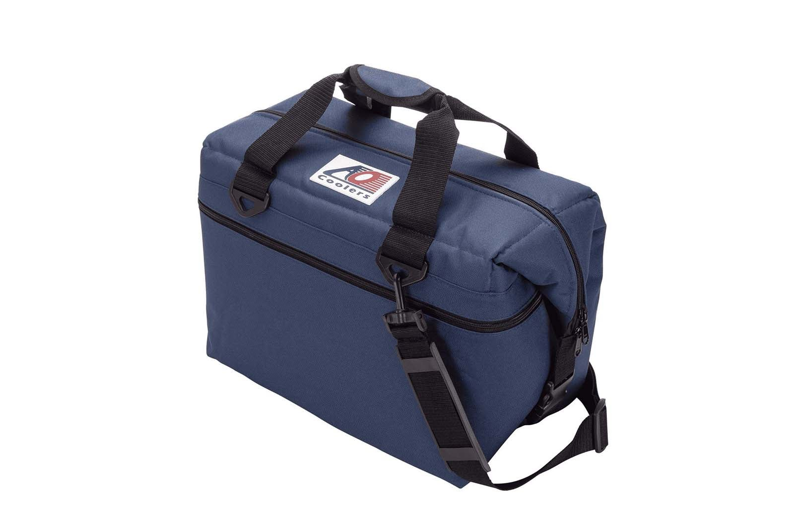 AO Coolers 24 Pack Soft Cooler – Navy Blue.