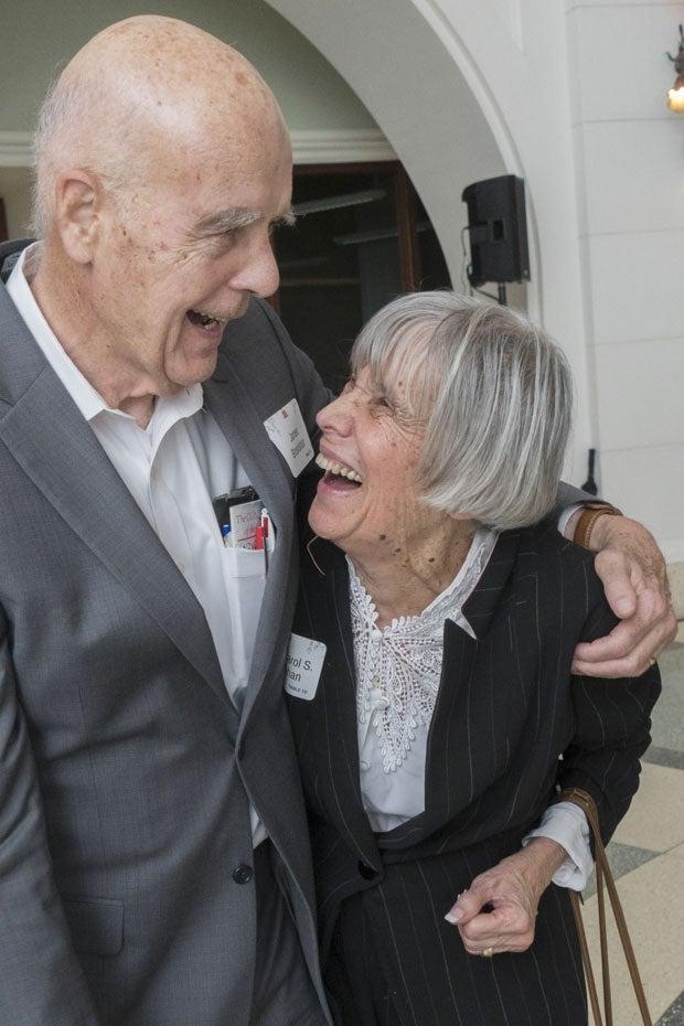 Recent photo of Carol and Jim.