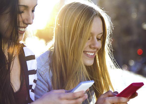 Friends, smartphones