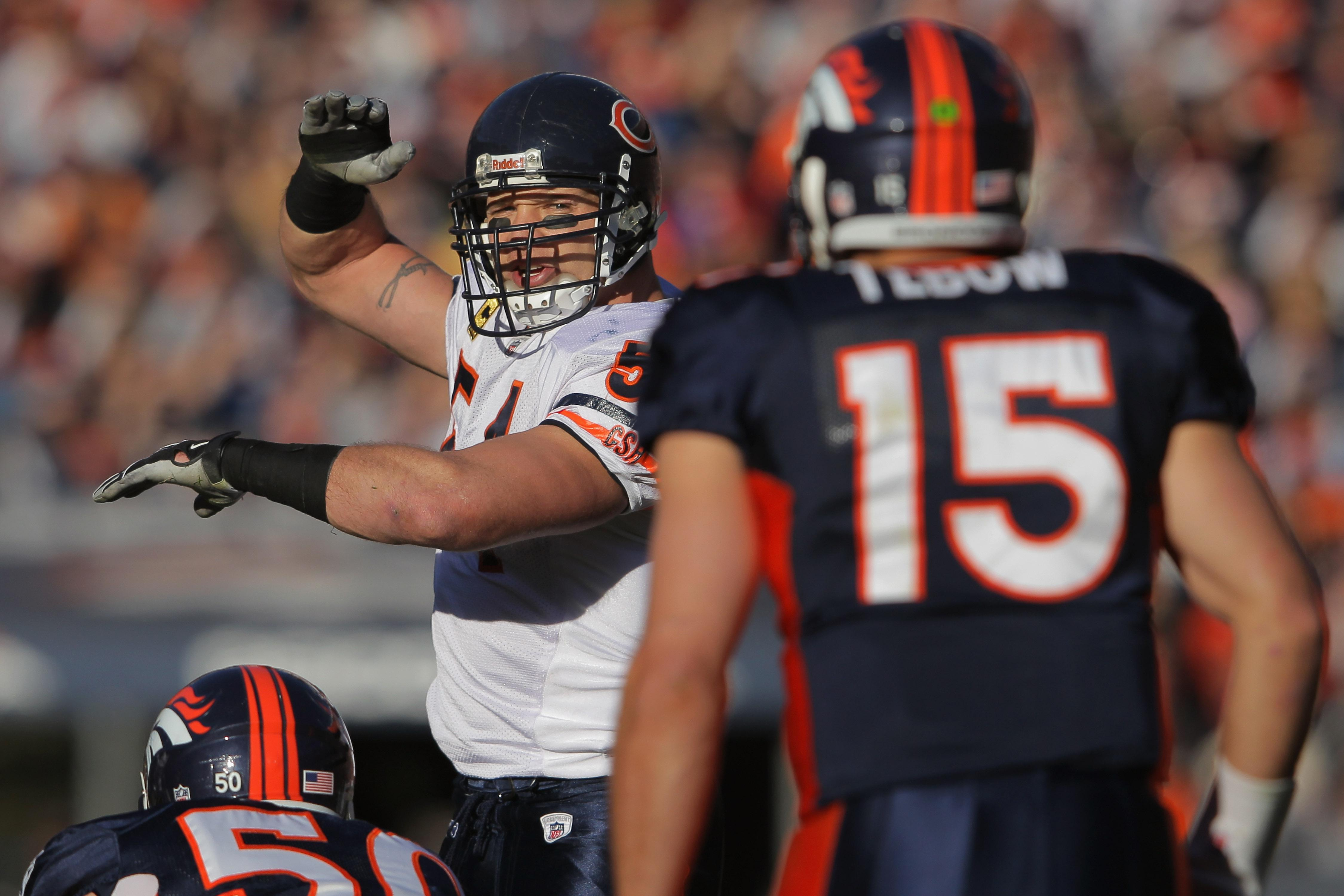 Brian Urlacher and Tim Tebow