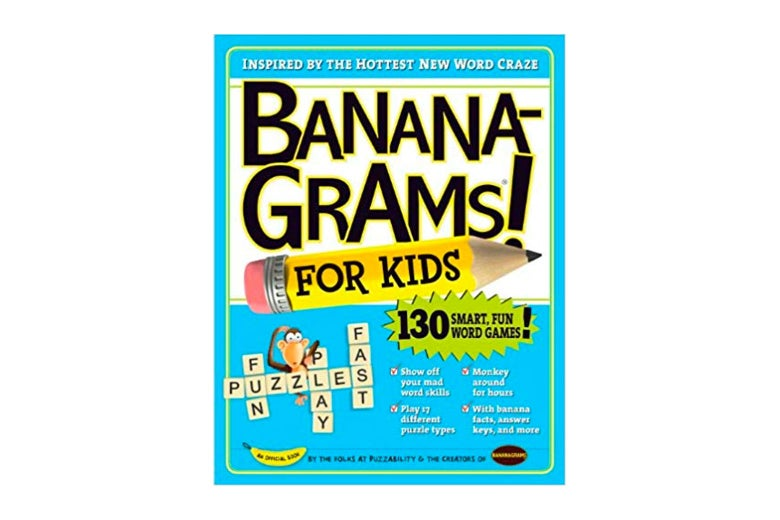 Bananagrams for Kids book cover