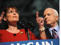 Sarah Palin and John McCain. Click image to expand.