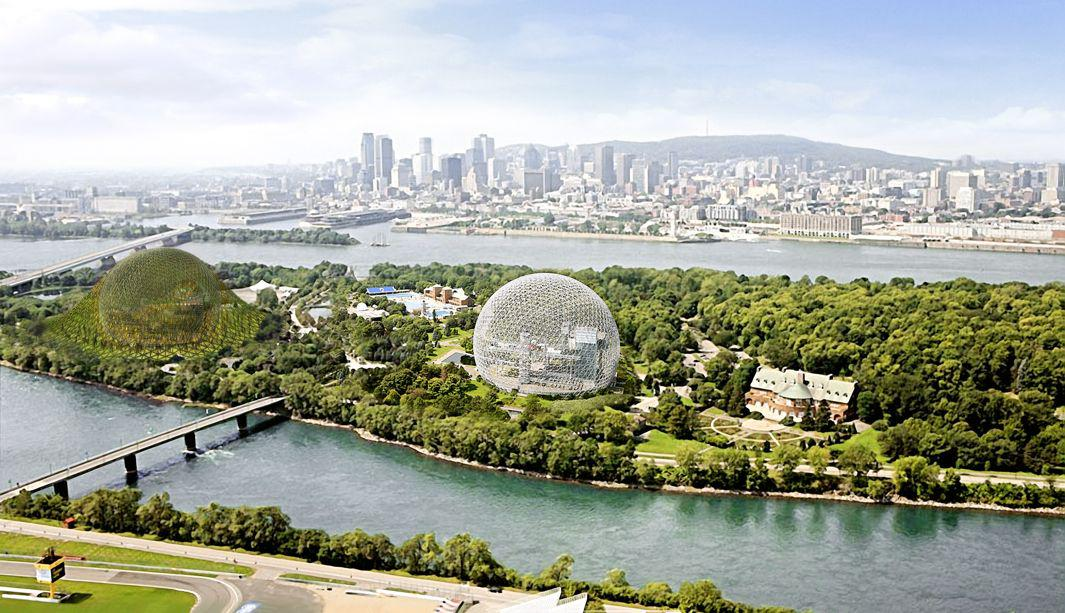 A Designer Wants to Build a Companion to the Montreal Biosphere From the 1967 World's Fair