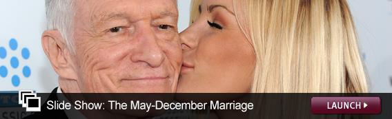 Slide Show: May-December Romances. Click image to launch.