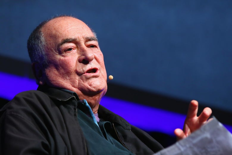 ROME, ITALY - OCTOBER 15:  Bernardo Bertolucci meets the audience during the 11th Rome Film Festival at Auditorium Parco Della Musica on October 15, 2016 in Rome, Italy.  (Photo by Ernesto Ruscio/Getty Images)