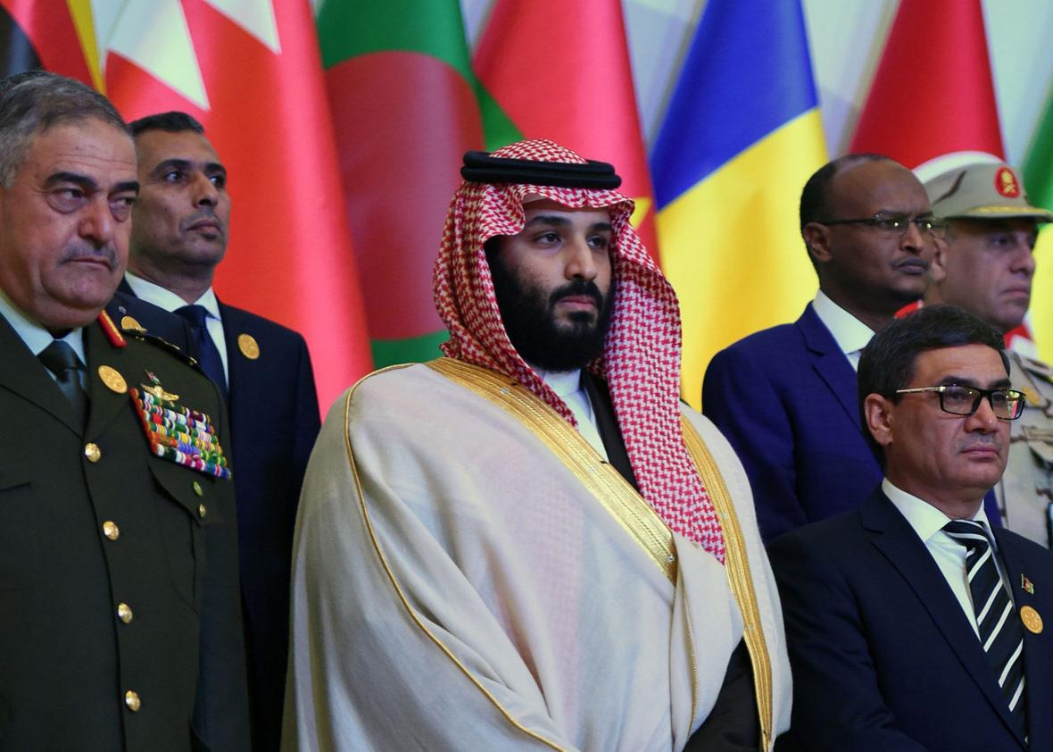 Saudi Crown Prince and Defence Minister Mohammed bin Salman
