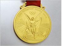 A 2008 Olympic gold medal. Click image to expand