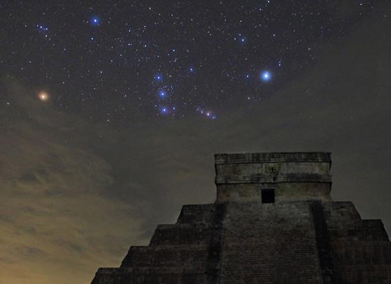 Orion over Mexico