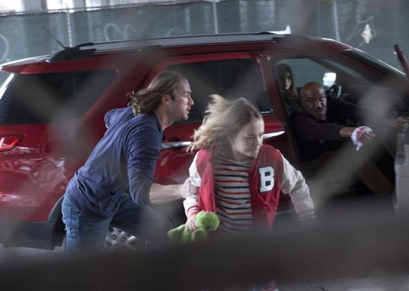 Jake McLaughlin, Johnny Sequoyah, Jamie Chung, and Delroy Lindo in Believe.