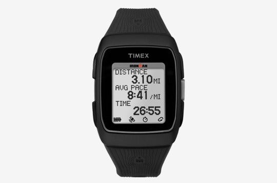 Timex Ironman GPS Silicone Strap Watch.