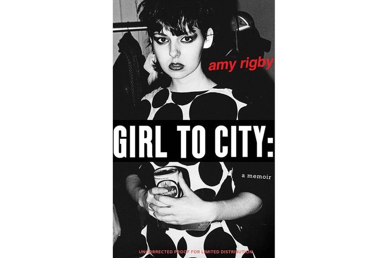The cover of Girl To City by Amy Rigby.
