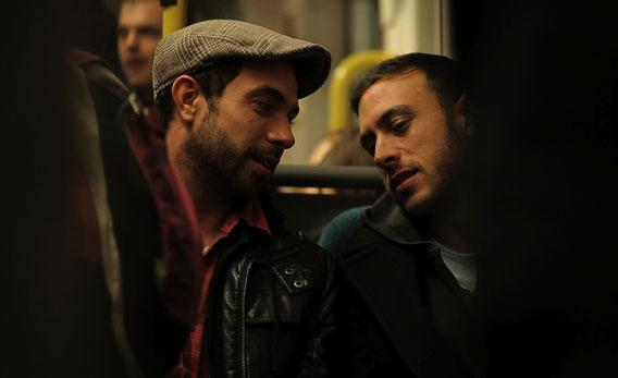 Tom Cullen and Chris New in Weekend
