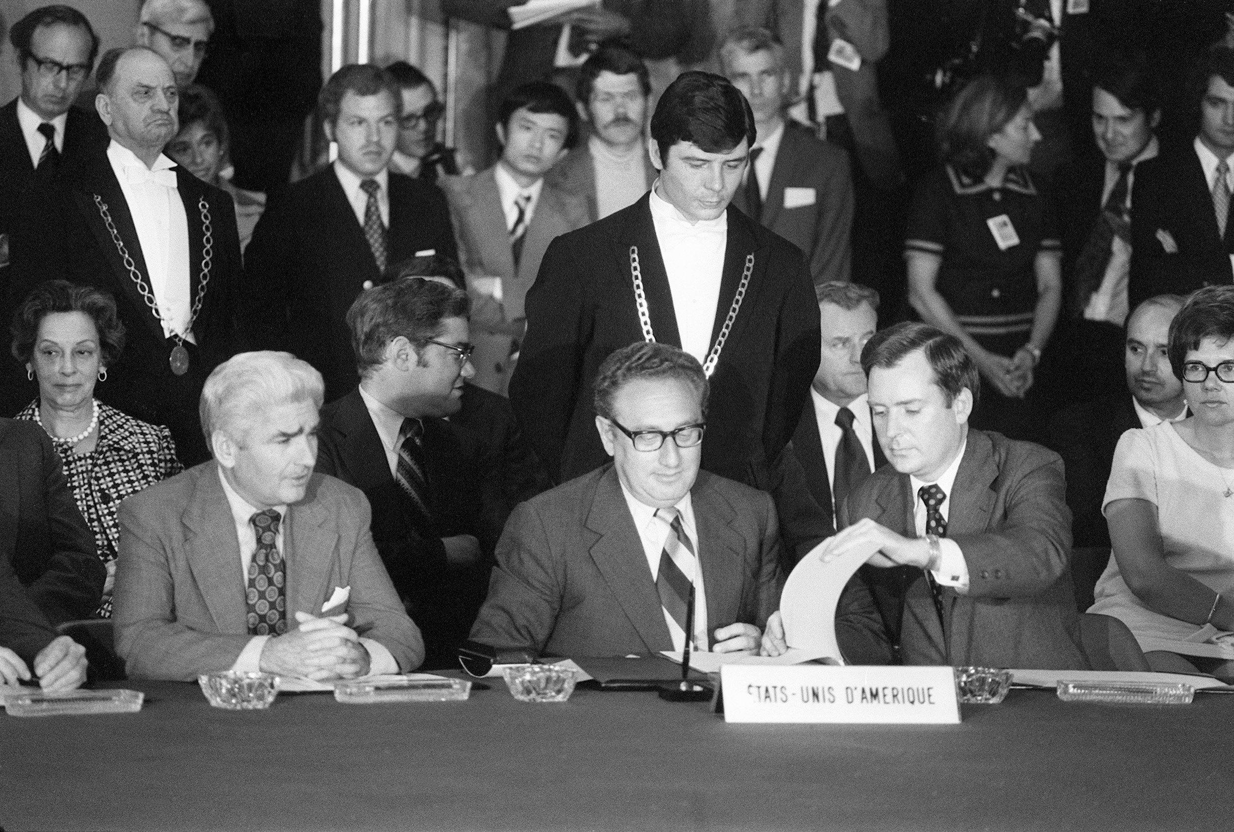 Image result for peace accords to end the vietnam war signed in 1973