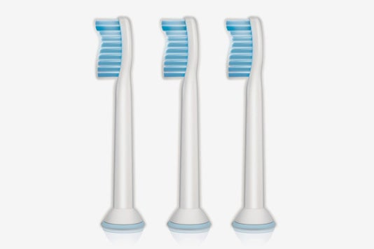 Philips Sonicare Sensitive Replacement Brush Heads.