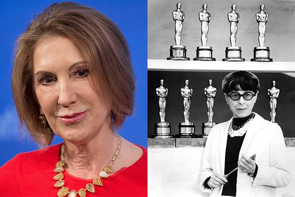 Carly Fiorina, Edith Head