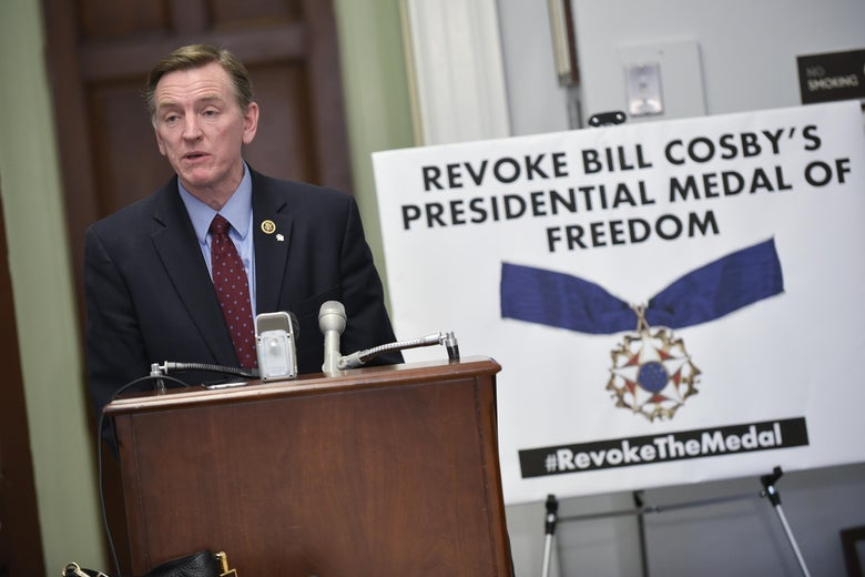 Rep. Paul Gosar, R-AZ, speaks during a press conference on January 7, 2016.