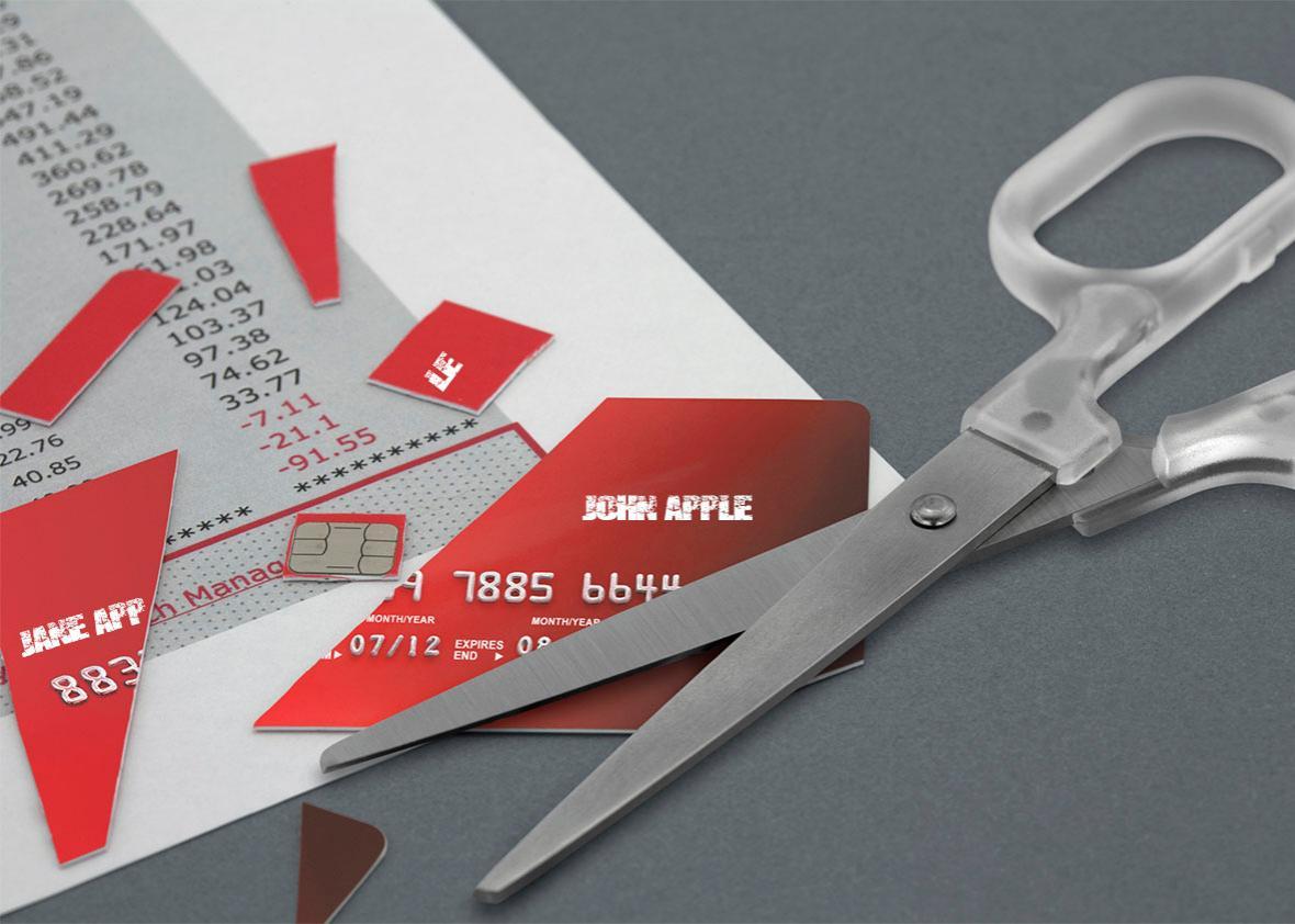 credit card split.