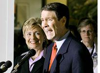 Hillary Clinton and Bill Frist. Click image to expand.