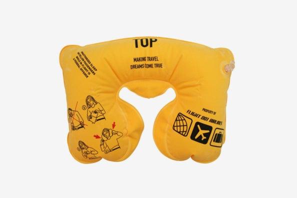 Flight 001 Air Supplies Inflatable Safety Neck Pillow.