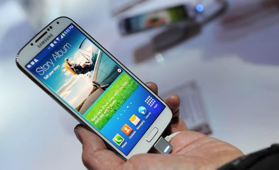 Samsung's new Galaxy S4 was unveiled on March 14, 2013.