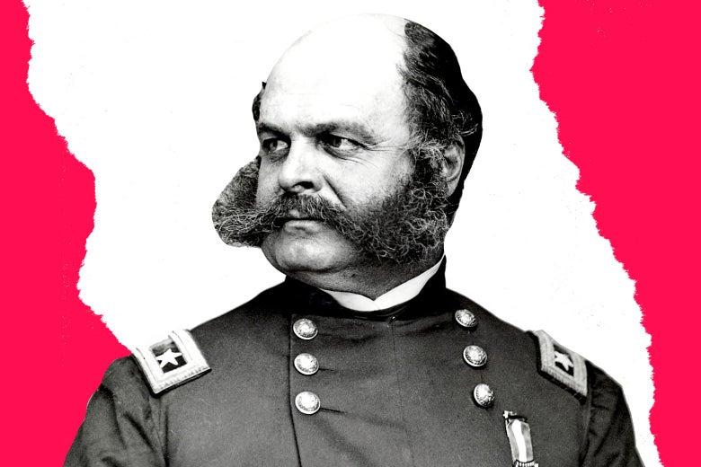 A portrait of Ambrose Everett Burnside.