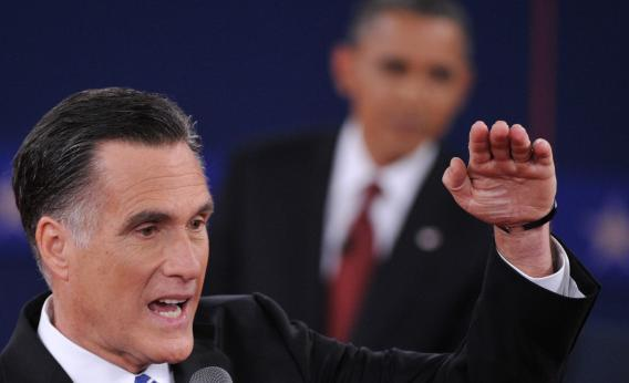 Did Mitt score any foreign policy points?
