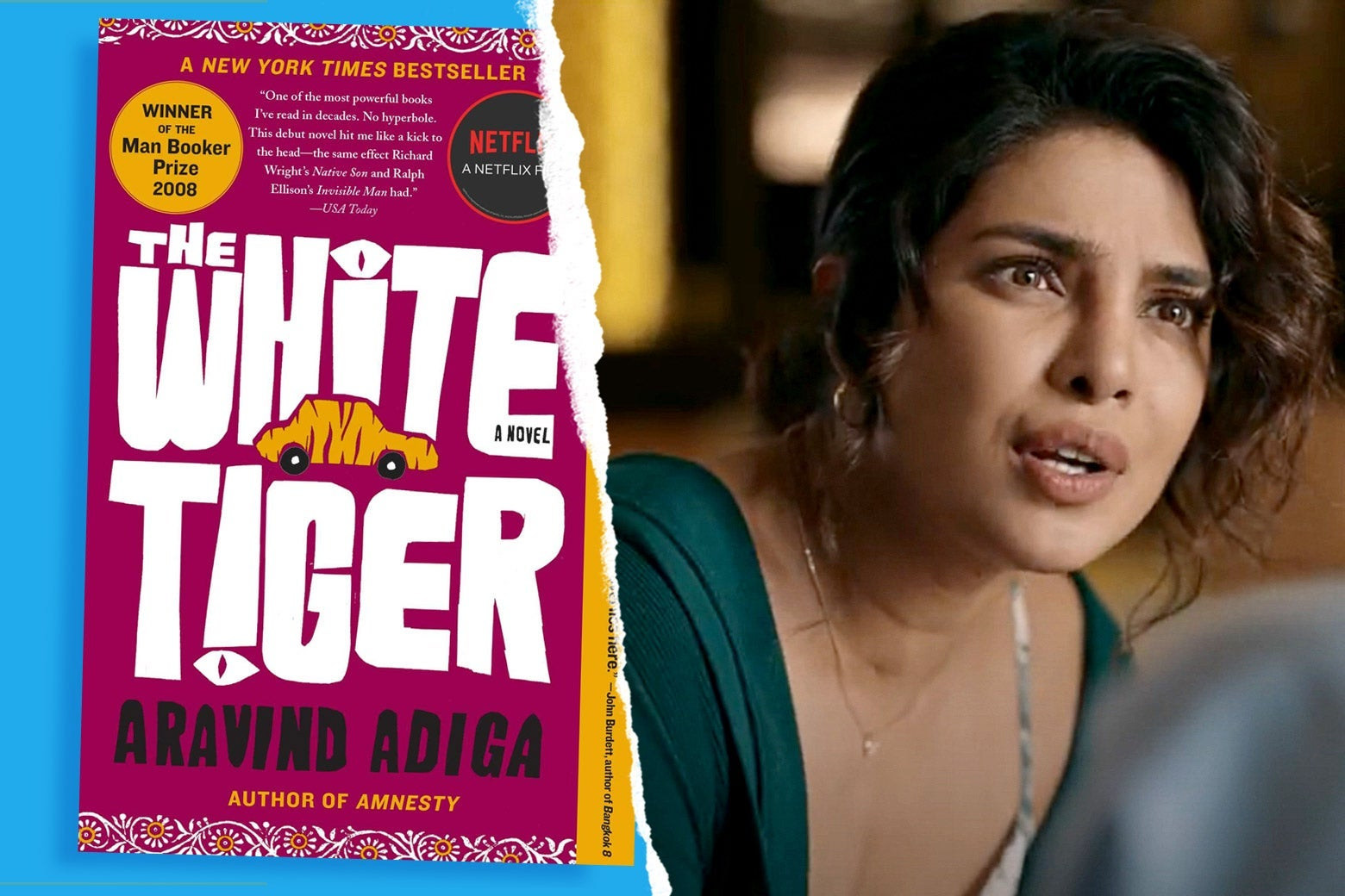 How Faithful Is The White Tiger to the Man Booker Prize–Winning Novel?