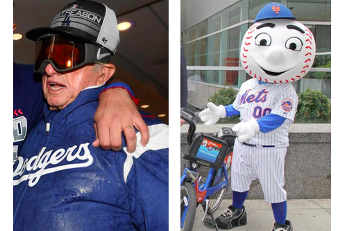 Combined, Tommy Lasorda and Mr. Met are 561 pitches.