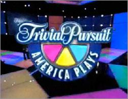 """Still from Hasbro's """"Trival Pursuit, America Plays"""""""