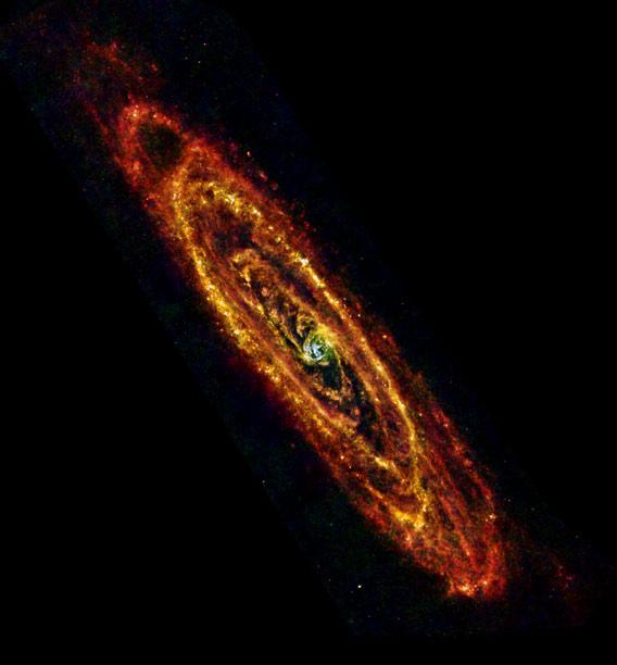 Herschel Andromeda
