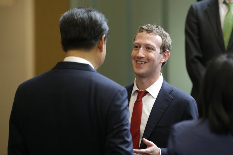 Zuckerberg has been trying to cozy up to Chinese President Xi Jinping for years.