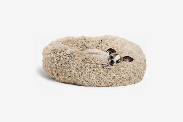 Best Friends by Sheri Luxury Shag Faux Fur Donut Cuddler Pet Bed